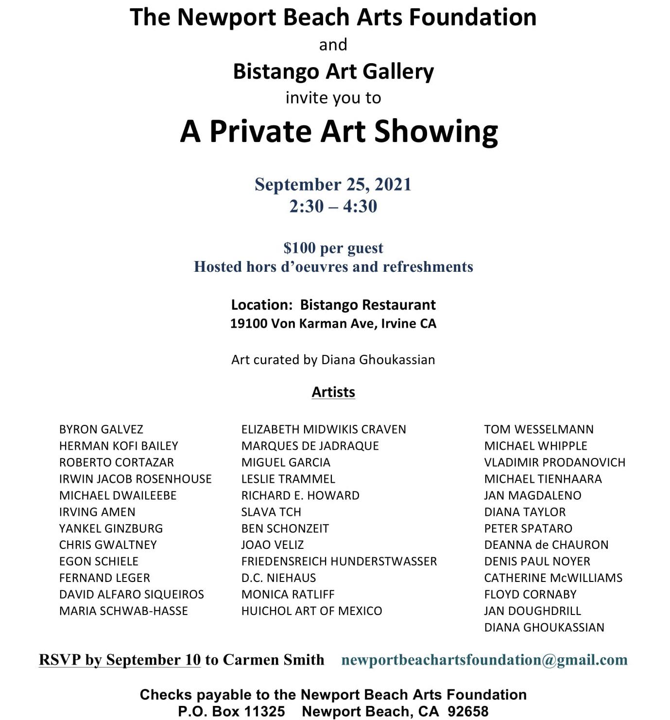 A Private Art Show